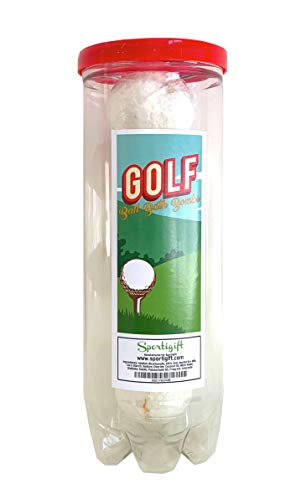 Golf Ball Bath Bombs - 6 pack - Luxury Scented Bath Bomb Fizzies - Great Gift for Golfers, Teammates, Opponents, Birthdays, Men, Boys, Women, Girls, Mothers Day, Wife, Girlfriend