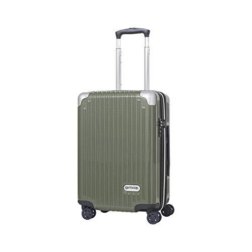 [アウトドアプロダクツ] スーツケース 機内持ち込み 拡張機能付き 軽量 40L 50cm 3.2kg OD-0757-50-GNC