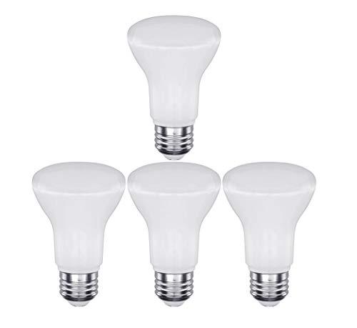 CTKcom 7W BR20 LED Light Bulb (4 Pack)- 2.5 inch 65W Equivalent Indoor/Outdoor Lighting Super Bright 6000K Daylight White 120° Beam Angle LED Indoor Flood Light Bulbs,UL Listed,E26 Base