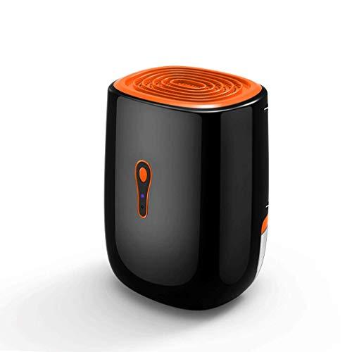 Deshumidificador para el deshumidificador casero Deshumidificadores eléctricos compactos y portátiles para el baño húmedo con condensación del Dormitorio (Negro)