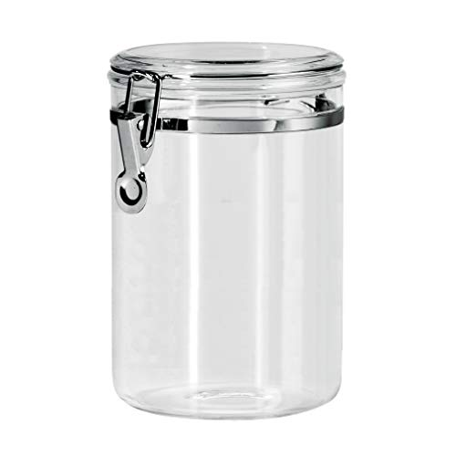 Canister with Locking Clamp