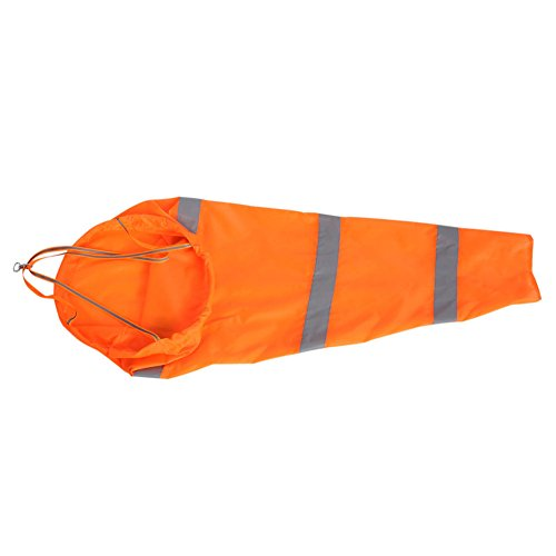 QuiCi Sac à air imperméable pour aviation aéroport avec bande réfléchissante (80 cm)