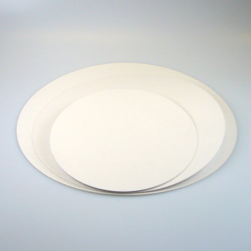 FunCakes TAK50 Greaseproof - Bandeja para tartas (16 cm, 250 unidades, papel resistente a la grasa)