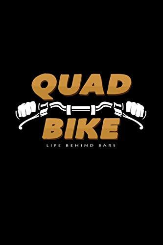 Quad Bike life behind bars: 6x9 Quad Bikes | grid | squared paper | notebook | notes