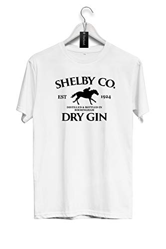 Peaky Blinders T Shirt Shelby Co Dry Gin LTD Est 1919 Distressed Logo Nue S-3XL