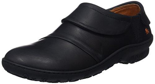 Art Antibes, Zapatillas sin Cordones Mujer, Negro (Black/Black Black/Black), 38 EU