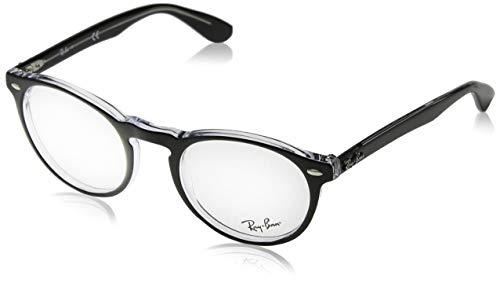 Ray-Ban 0RY 1541 3618 47 Monturas de gafas, Azure Fluo Transparente Rubber, Niñas