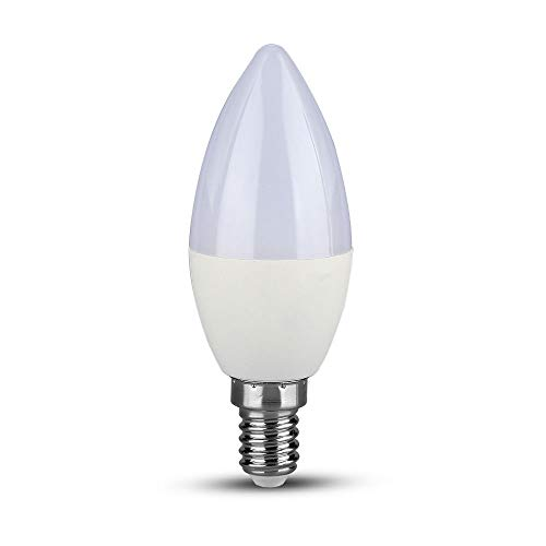 LED-Leuchtmittel, Kerzenform, 5,5 W, E14, Warmweiß