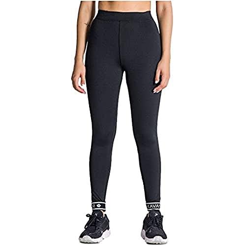 Gianni Kavanagh Black Core Elastic Leggings Chándal, Negro, L para Mujer