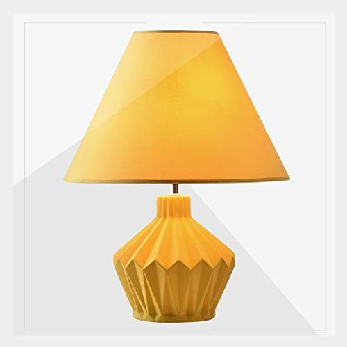 Lampe de table F Lampe de table Simple Moderne Créative Mignonne Chaud Chaud Lampe De Chevet (Couleur : Remote control LED bulb)