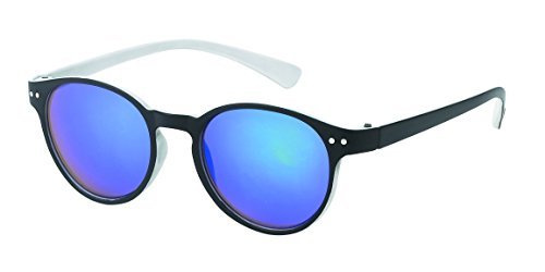 Chic-Net des Lunettes de Soleil sur Sun Glasses Souligne 400UV Trou de Serrure Couleurs Pont de néon Blanc