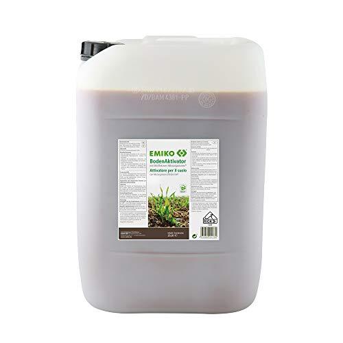 BodenAktivator 25 Liter Bodenhilfsstoff mit EM für aktives Bodenleben und hohe Bodenfruchtbarkeit;