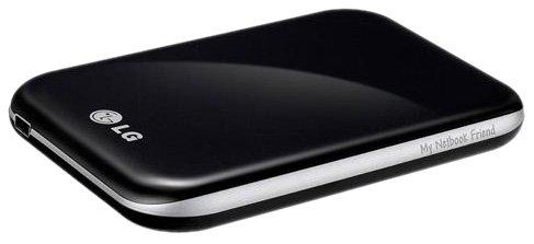 LG My Netbook Friend - 500Gb Externe Festplatte Schwarz - Externe Festplatten (500 GB, 2.5 Zoll, 2.0, 5400 RPM, Schwarz)