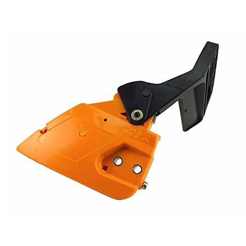 CFDYKRP Accesorios de hardware Cubierta de piñón de cadena de freno lateral para motosierra McCulloch 335 435 440 Partner 350 R