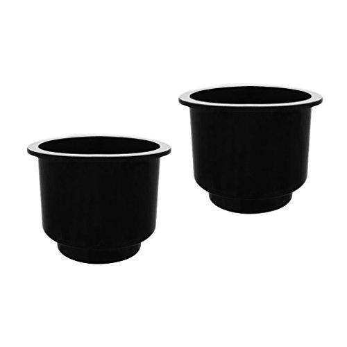Gazechimp Kunststoff Getränkehalter Dosenhalter Flaschenhalter Becherhalter, Boot Auto KFZ Einbau - 2 Stück / Packung