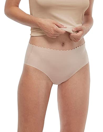 Lovable Invisible Comfort Cotton Slip a Vita Alta (Pacco da 3) Donna