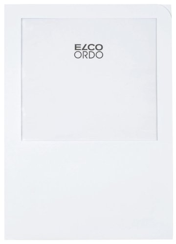 Elco 29464.10 Ordo Organisationsmappe transport, 220 x 310 mm, 120 g, 100 Stück, weiß
