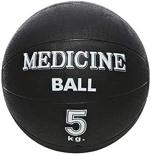 Pro Solid Unisex Adult 5kg Medicine Ball - Black, Medium