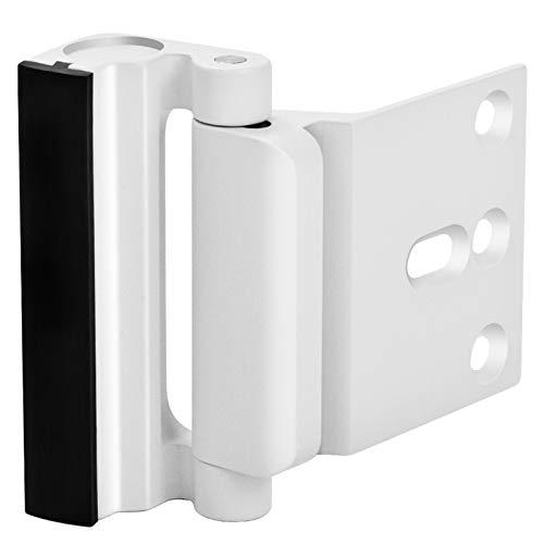 Home Security Door Lock, Upgrade Easy Open Childproof Door Reinforcement Lock with 3