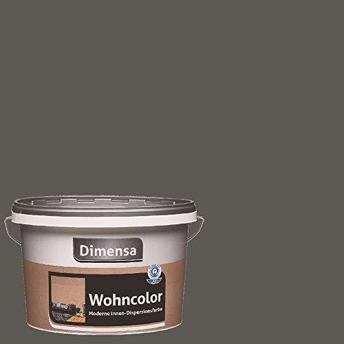 Dimensa Wohncolor bunte Wandfarbe rock dunkel-grau 2,5 Liter