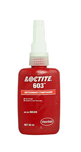 Véritable Henkel Loctite 603 – Gen Purpose – Conservant composé – Haute résistance – Conservant – 50 ml Colle – Lot de 5