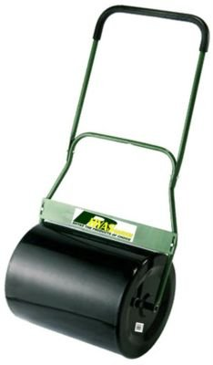 Rhyas Heavy Duty 69L Steel Garden Lawn Roller - Fillable with Water or Sand