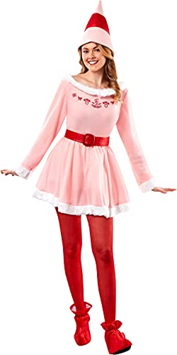 Rubie's Deluxe Jovi The Elf Costume, Pink, One Size
