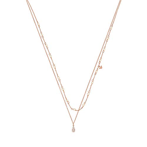 Emporio Armani womens Sterling silver Not applicable applicable No Gemstone Necklaces - EG3489221