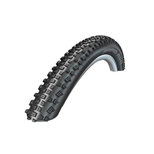 Schwalbe Unisex– Erwachsene Rapid Rob Hs425 Fahrradreife, Schwarz, 27.5x2.25