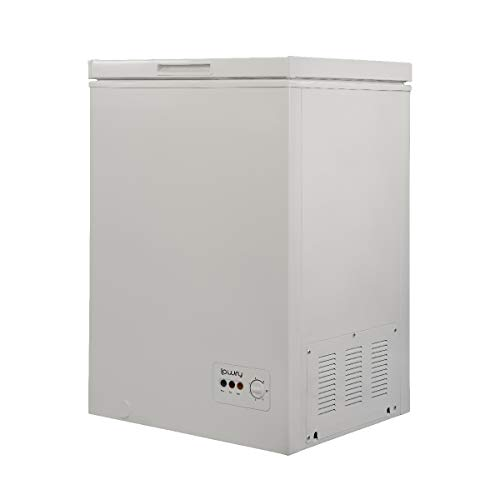 Lowry 99 Litre White Chest Freezer, Suitable for Outbuildings & Garages,...