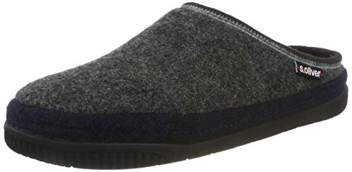 s.Oliver Herren 5-5-17301-33 Pantoffeln, Grau (Grey 200), 43 EU