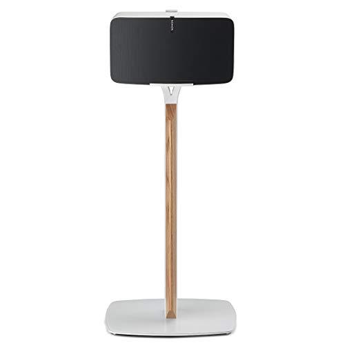 Flexson Premium Floor Stand for Sonos PLAY:5 (White Oak)