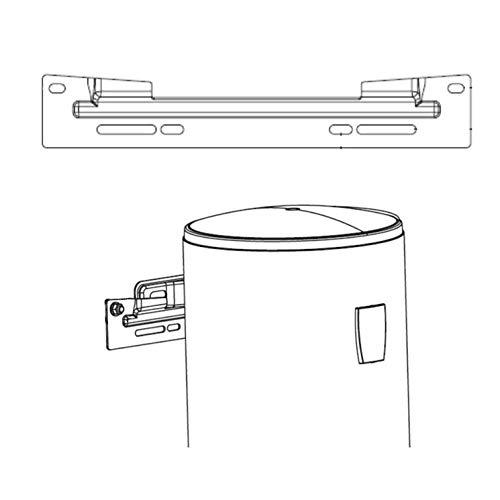 Soporte de Montaje Universal Vertical para Termo Eléctrico Tesy