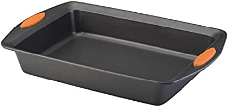 Rachael Ray 54072 Yum-O Nonstick Bakeware Cake Pan, 9