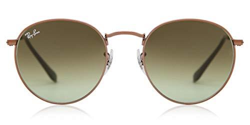 Ray-Ban RB 3447 Gafas de sol, Shiny Medium Bronze, 47 para Hombre