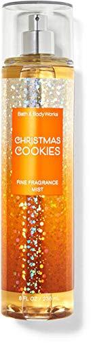Bath and Body Works Fine Fragrance Mist - 8 fl oz Full Size - Christmas Cookies