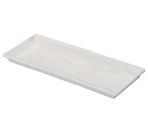 Geli 804 040 10 Standart Untersetzer eckig, 40 x 15,50 cm, weiß