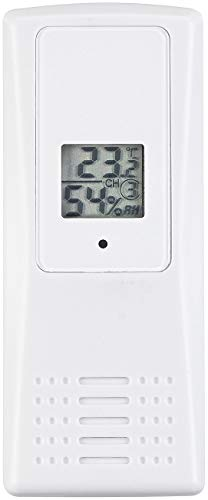 infactory Kombithermometer: Funk-Thermo-Hygrometer, ideal für Wetterstation-Set FWS-1000, 100 m (Autothermometer)
