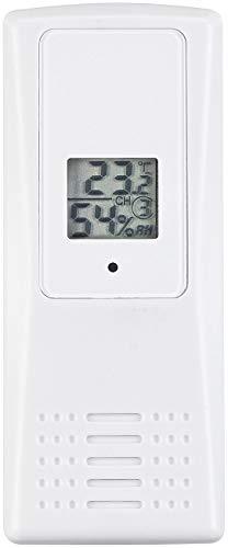 infactory Autothermometer: Funk-Thermo-Hygrometer, ideal für Wetterstation-Set FWS-1000, 100 m (Hydrometer)