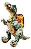 リリーフのスピノサウルス恐竜ぬいぐるみ立っているDINOぬいぐるみ巨大な動物家族男の子子供のギフト40/60/80 / 100cm Spinosaurus 100cm Spinosaurus 100cm Mengheyuan (Color : Spinosaurus, Size : 40cm)