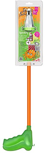 The Buzz Spider Catcher (Humanely Remove Spiders, Insects, Moths, Butterflies and Daddy-Long-Legs Without Harm)