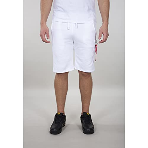 Alpha Industries Herren Shorts X-Fit Cargo (M, White)