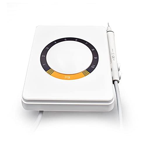 QNMM Scaler Irrigator Detergente per Denti con Impugnatura a Spina, Ablatore a Ultrasuoni Multifunzione con Prelievo d'Acqua Denti Tartaro Calcolo Placca Rimuovi