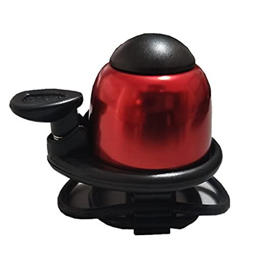 moonuk Scooter eléctrico Horn Bell Gadgets Cool para M365 Monopatinete eléctrico Ninebot ES1 ES2 F0 Accesorios de Bicicletas de USETDRIVE ( Color : Red )