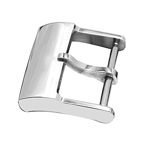 YANYAN MAYALI Reloj Fix Tool Reloj Hebilla Ajuste para Brazalete Banda de Reloj breitling 20 mm de Plata de Acero Inoxidable Reloj de Hebilla de Hebilla
