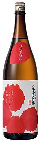 越路乃紅梅 特別本醸造 中辛口 頚城酒造 新潟 上越 日本酒 (1800ml)