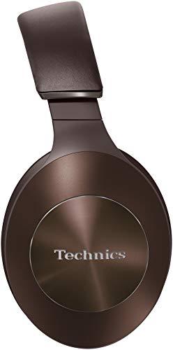 Technics EAH-F70N Noise Cancelling Bluetooth Premium Kopfhörer (High Resolution, Tragesensor, 20h Akku, Quick-Charge) braun