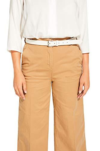 Esprit Accessoires 999ea1s803 Cinturón, Blanco (White 100), 110 (Talla del Fabricante: 95) para Mujer