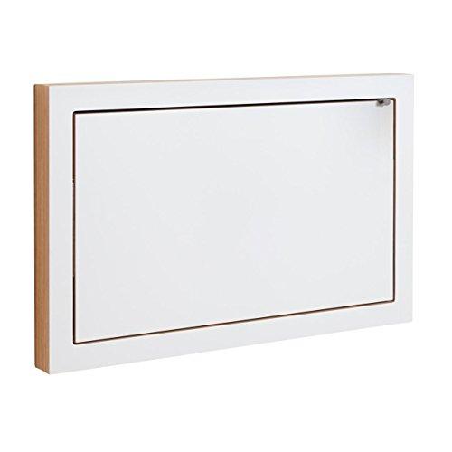 Ambivalenz - Schreibtisch klappbar - Sekretär - Staatssekretär Fläpps - 80 x 50 cm - Weiß