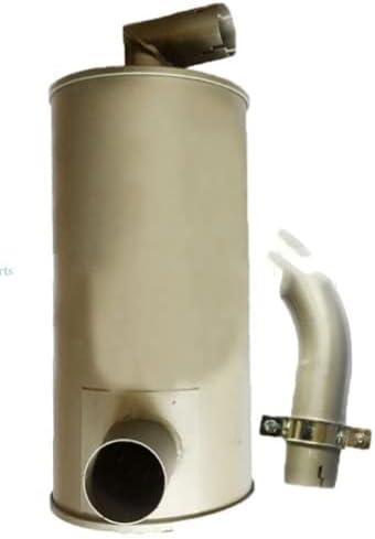 Muffler 4649870 for Hitachi EX120-2 4BG1 4BD1 Excavator Complete Free Shipping EX120-3 Popular brand